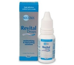 Увлажняющие капли MAXIMA Revital Drops